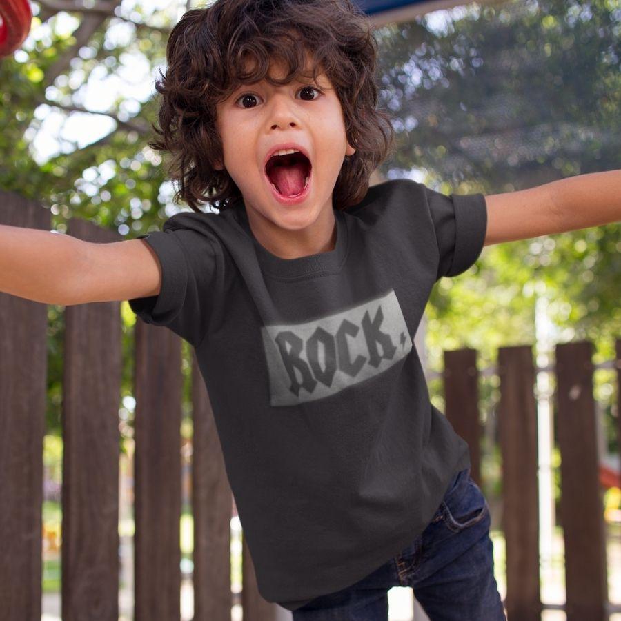 Camiseta Infantil Rock Rockstar Art Rock