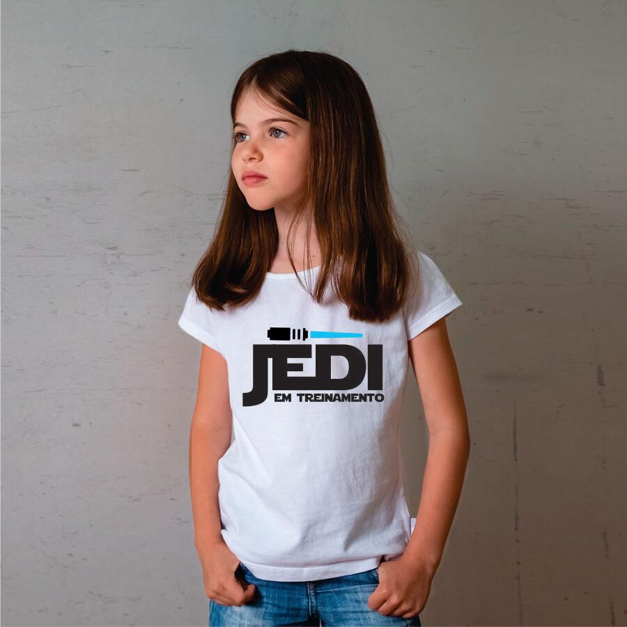 Camiseta INFANTIL Star Wars - Jedi em Treinamento