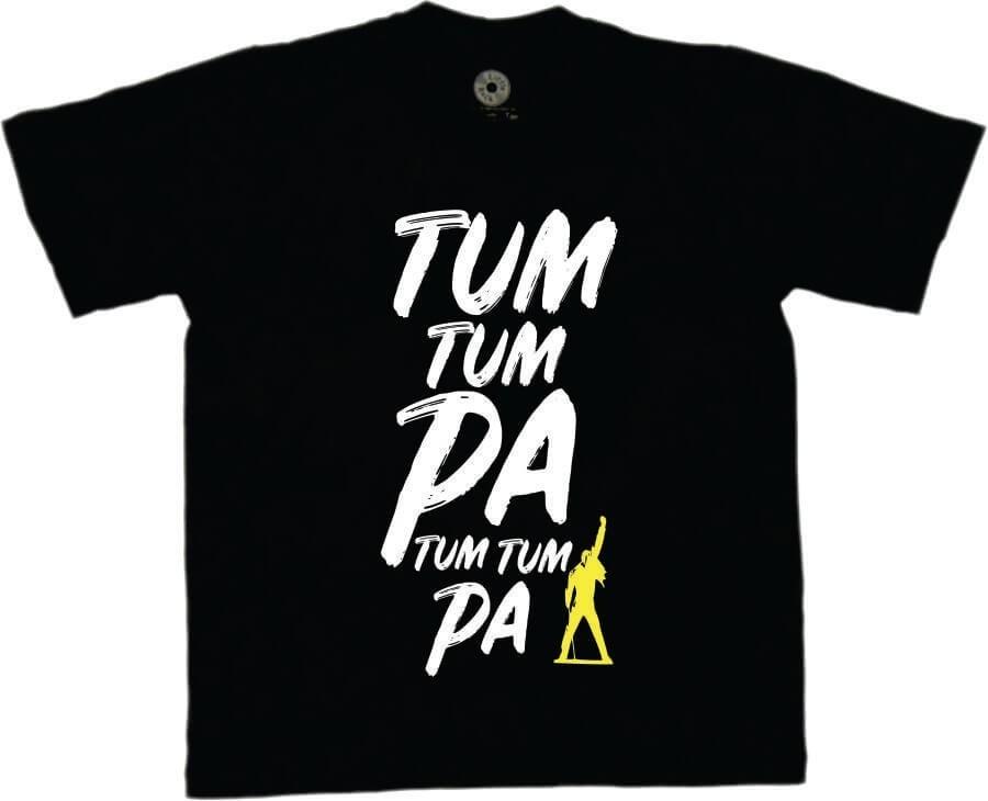 Camiseta INFANTIL Tum Tum Pá Queen