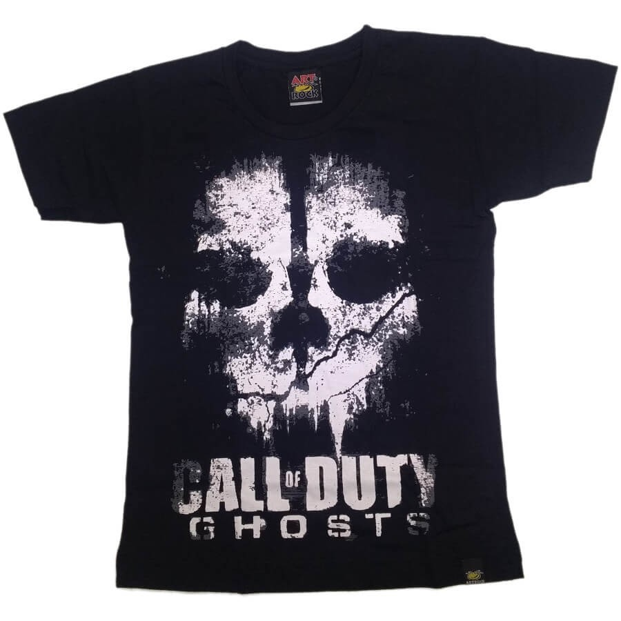 Camiseta Juvenil Call Of Duty