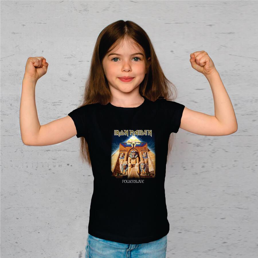 Camiseta Juvenil IRON MAIDEN Powerslave Stp