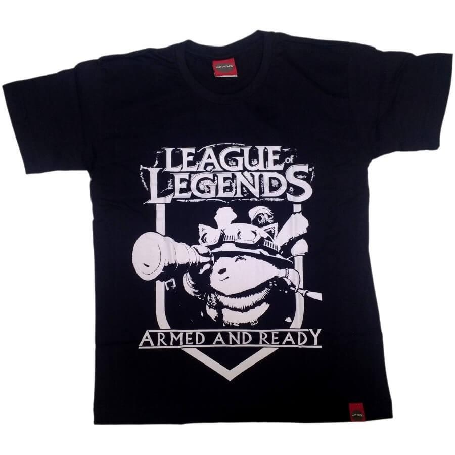 Camiseta Juvenil League Of Legends