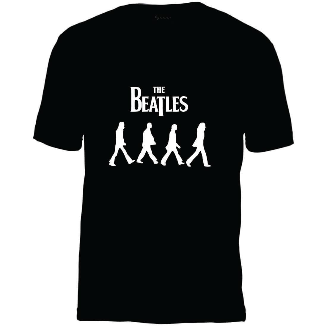 Camiseta Masculina Adulto Beatles Abbey Road