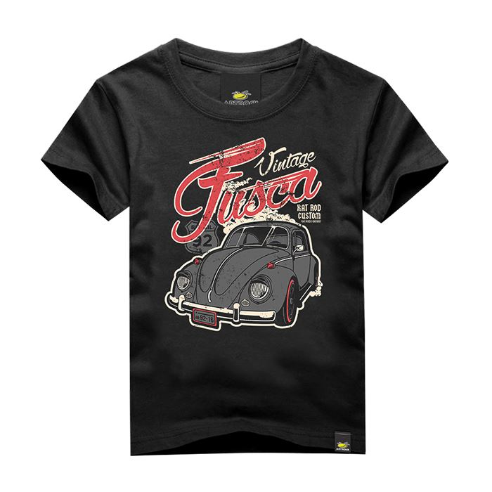 Camiseta Masculina Adulto FUSCA RAT Art