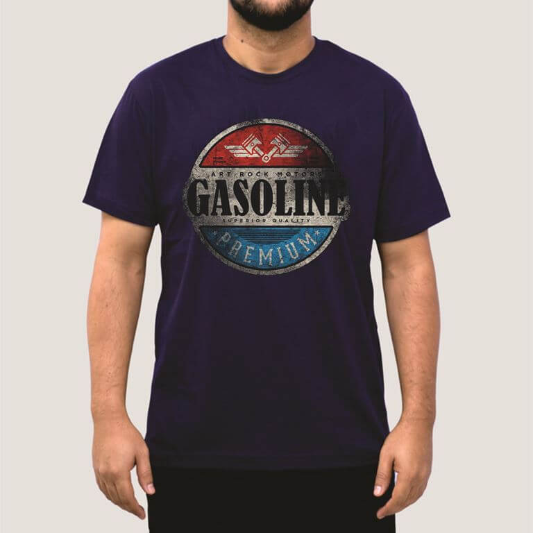 Camiseta Masculina Adulto GASOLINE Art