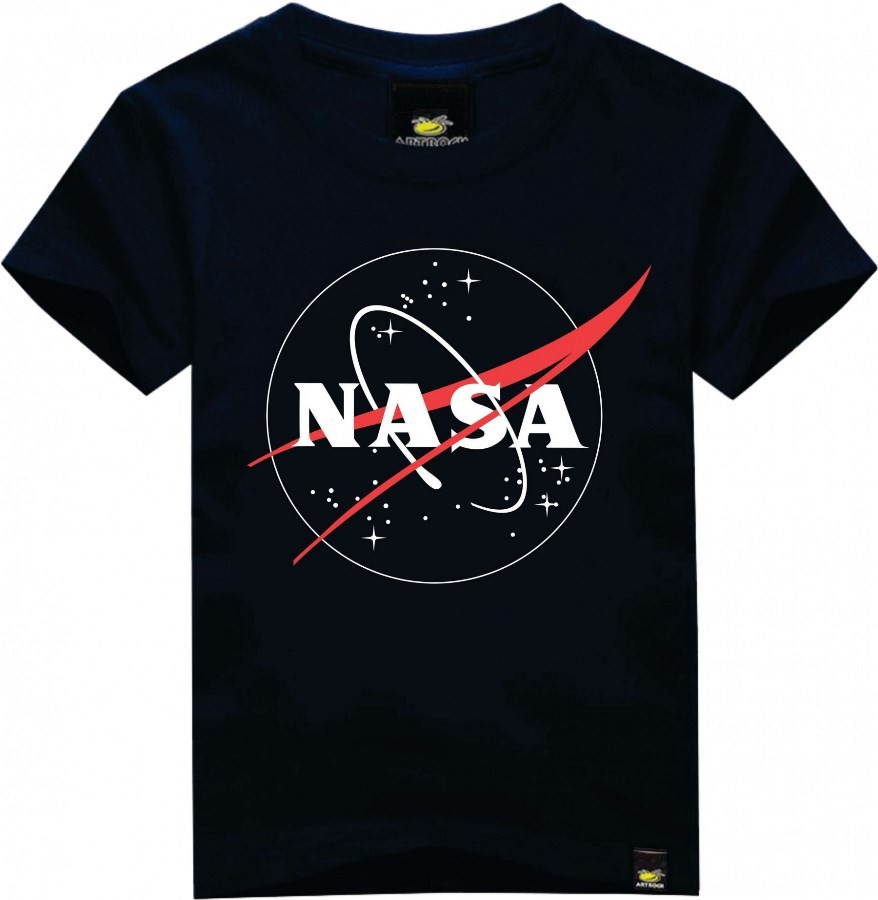 Camiseta Masculina Adulto NASA Art