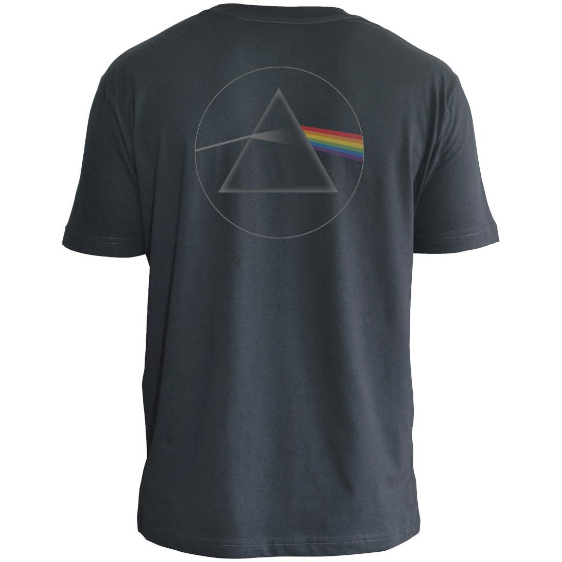 Camiseta Masculina Adulto Pink Floyd STAMP