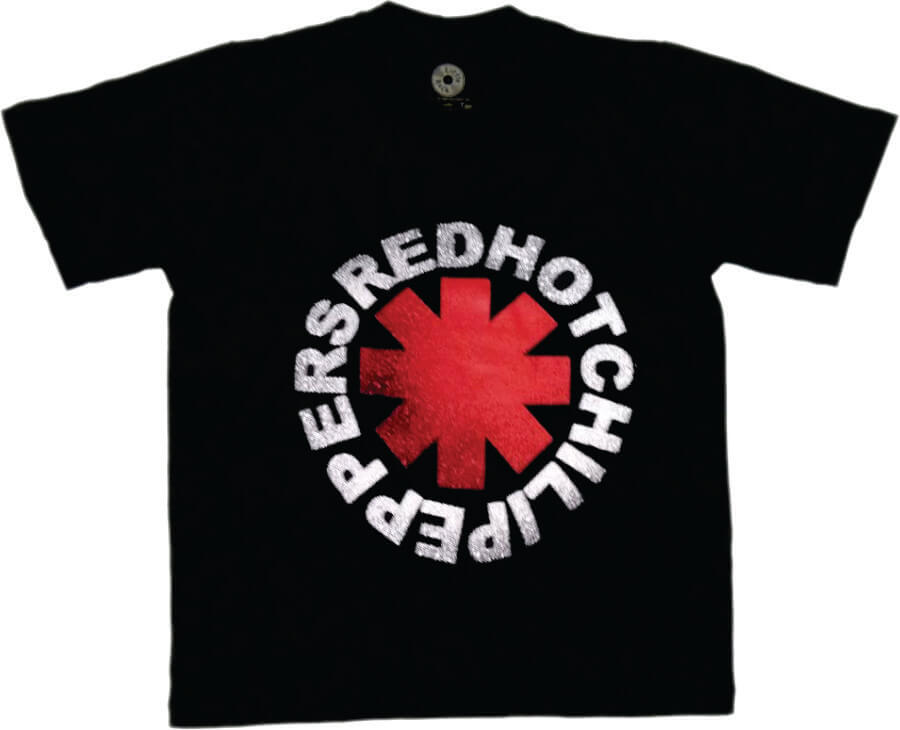 Camiseta Masculina Adulto RED HOT CHILLI PEPPERS Art