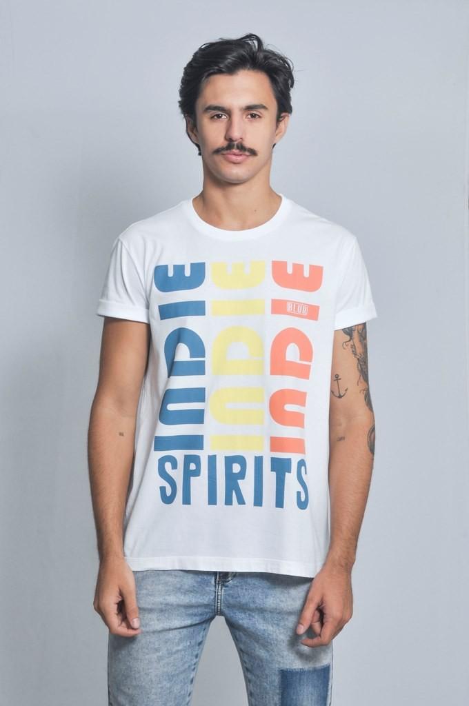 Camiseta Masculina Indie Spirits Blur By Little Rock