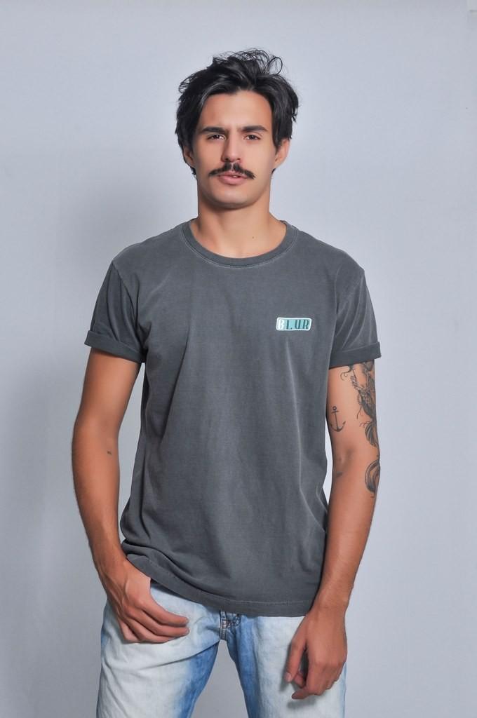 Camiseta Masculina Lisa Blur Stone by Little Rock