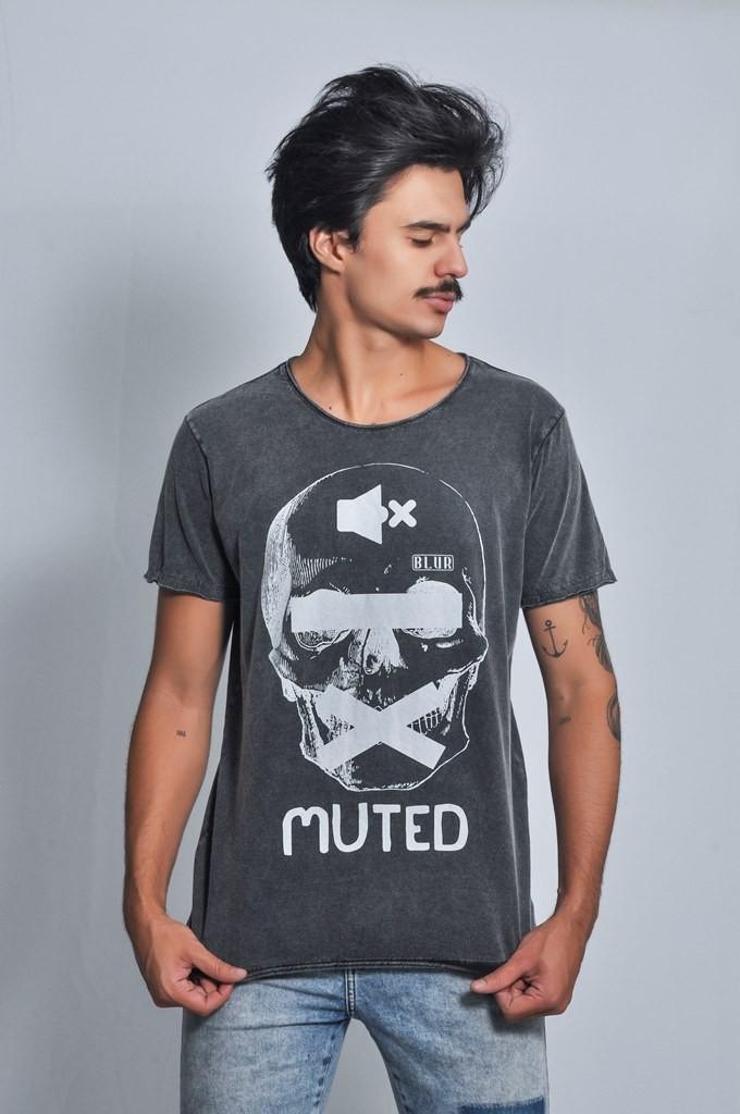 Camiseta Masculina Muted