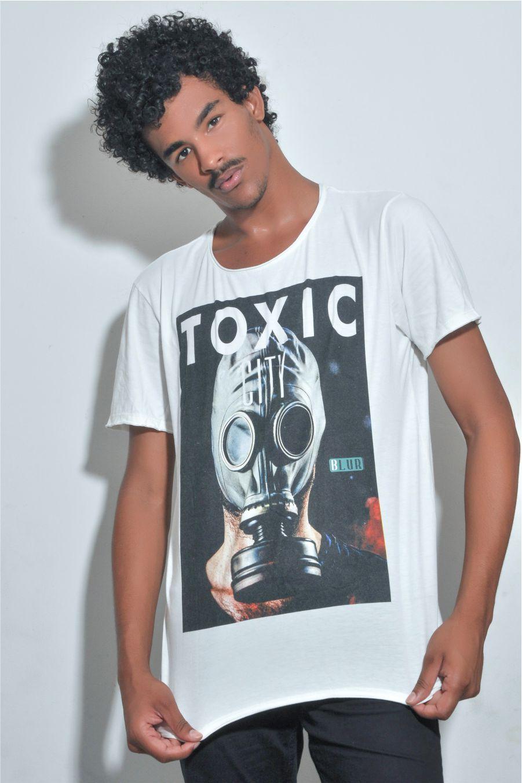 Camiseta Masculina TOXIC CITY Blur by Little Rock