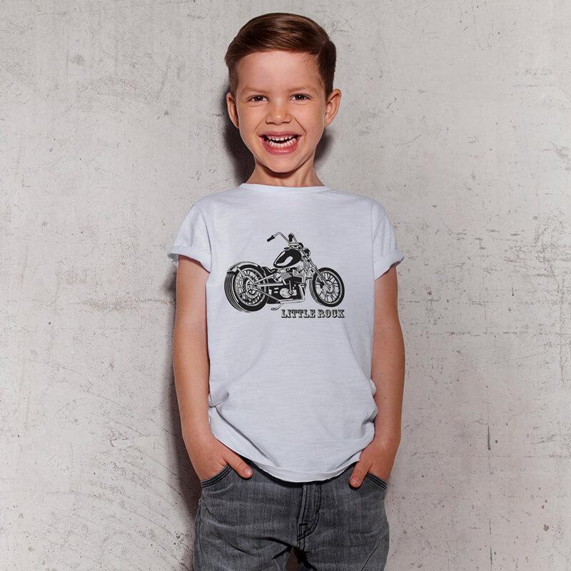 Camiseta Moto Rock Little Rock