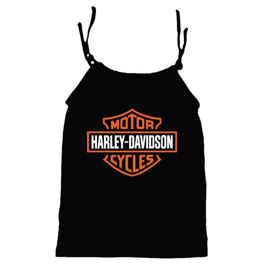 Camisola Little Rock Infantil Viscolycra Harley Preta