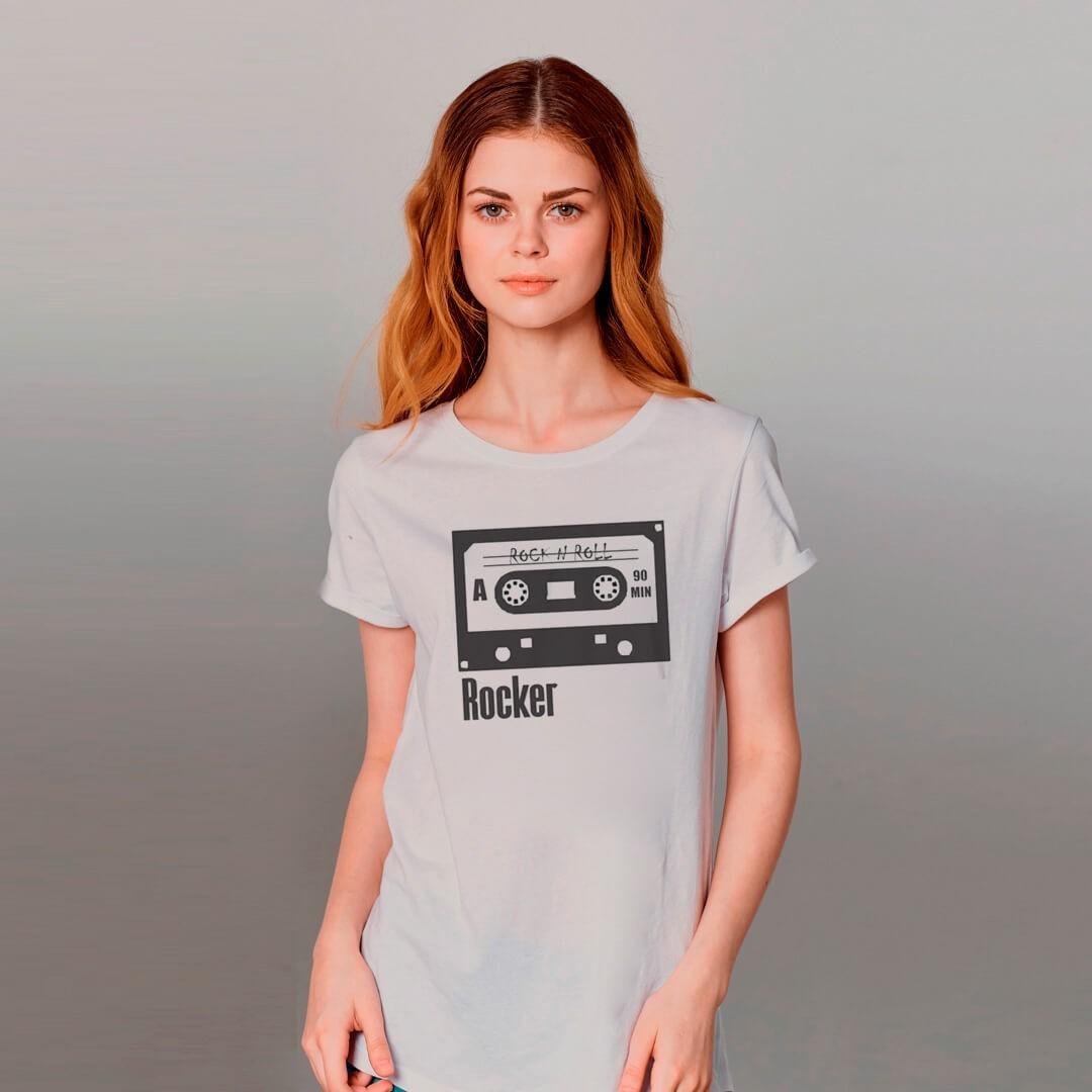 Kit Camisetas Mãe e Filha Fita K7 IPHONE