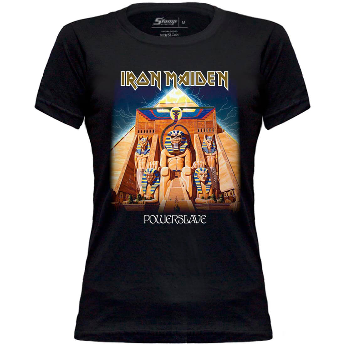 Kit Camisetas Mãe e Filha Iron Powerslave