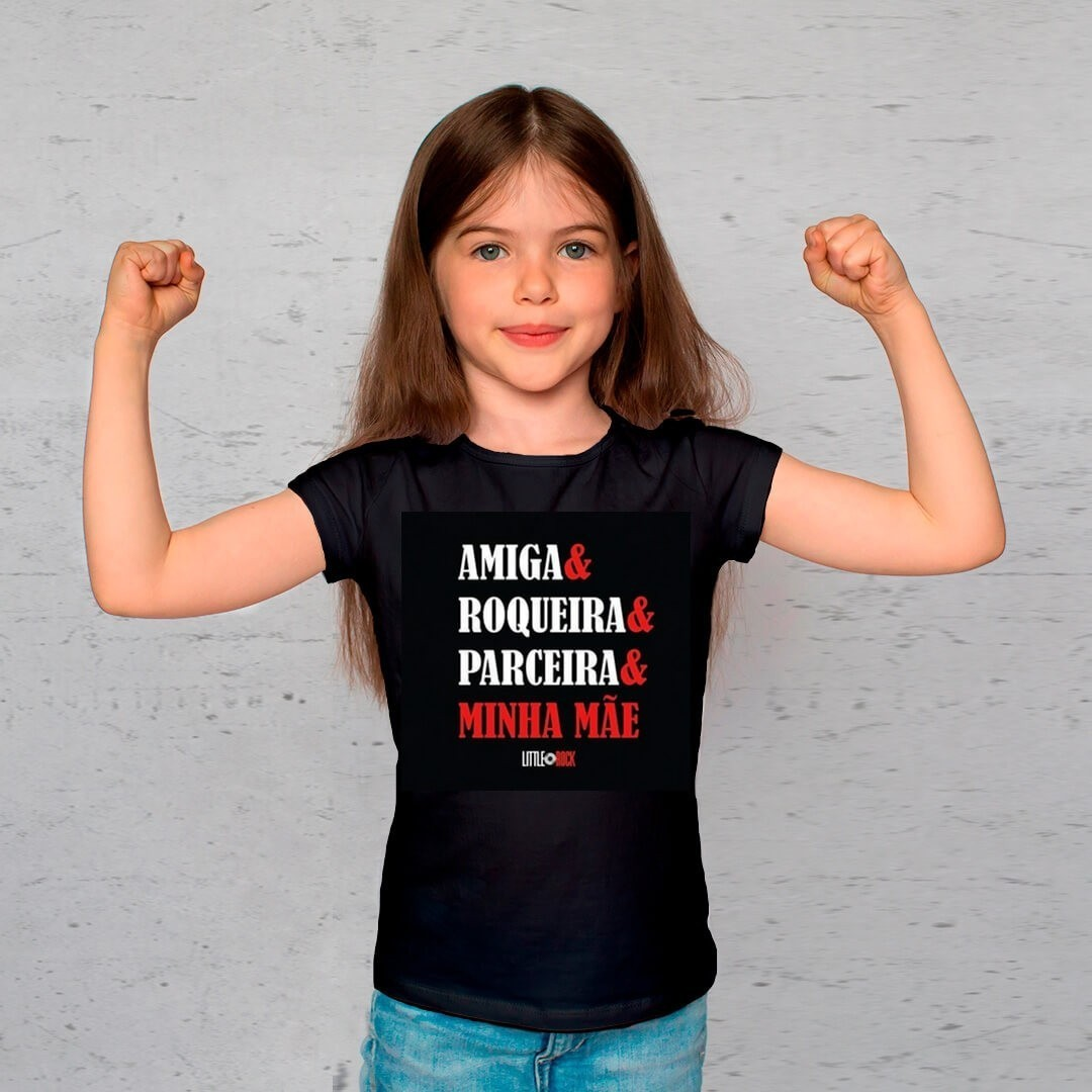 Kit Camisetas Mãe e Filha Parceiros