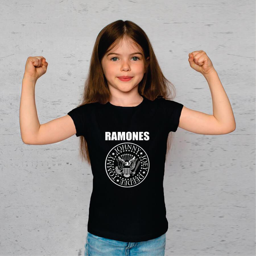 Kit Camisetas Mãe e Filha Ramones