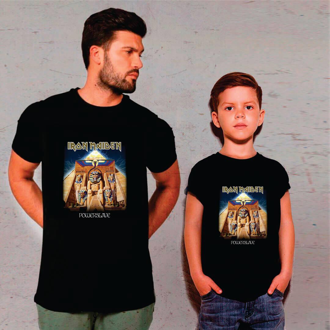 Kit Camisetas Pai e Filho Iron