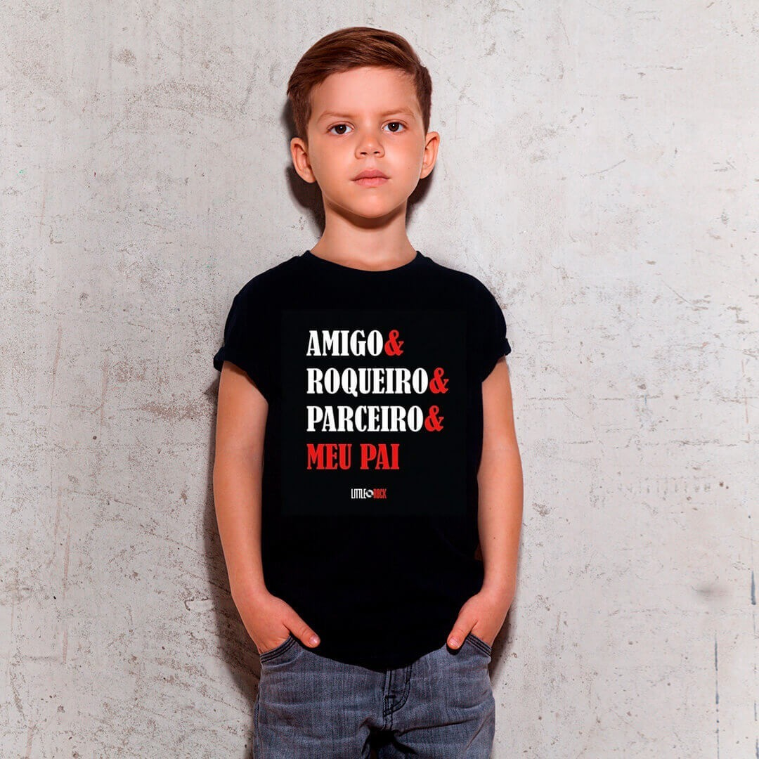 Kit Camisetas Pai e Filho Parceiros