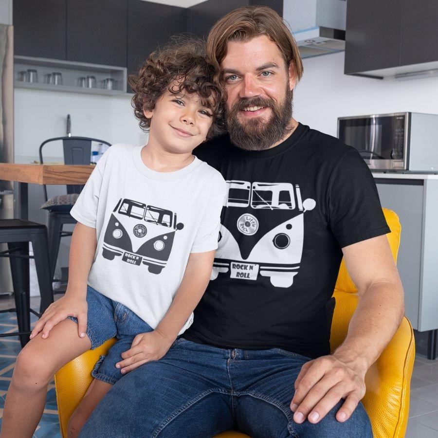 Kit Pai e Filho Kombi Little Rock