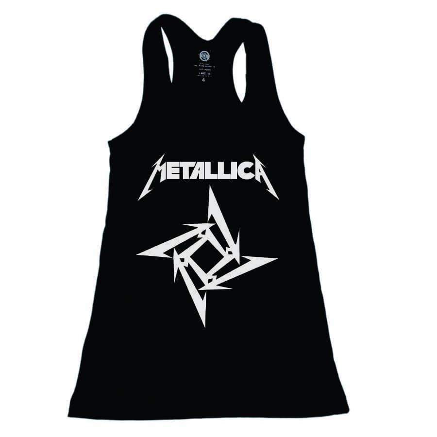 Vestido Infantil Metallica Preto