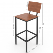 Cadeira Alta Kit C/2 HP-00862R