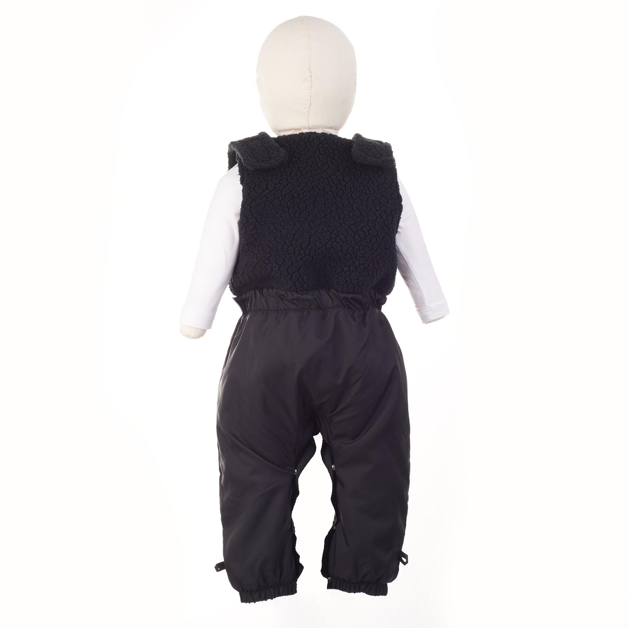 2 PEÇAS PARQUINHO BABY - MACACÃO REGATA COM REGULAGEM BABY COM SAPATINHO IMPERMEÁVEL