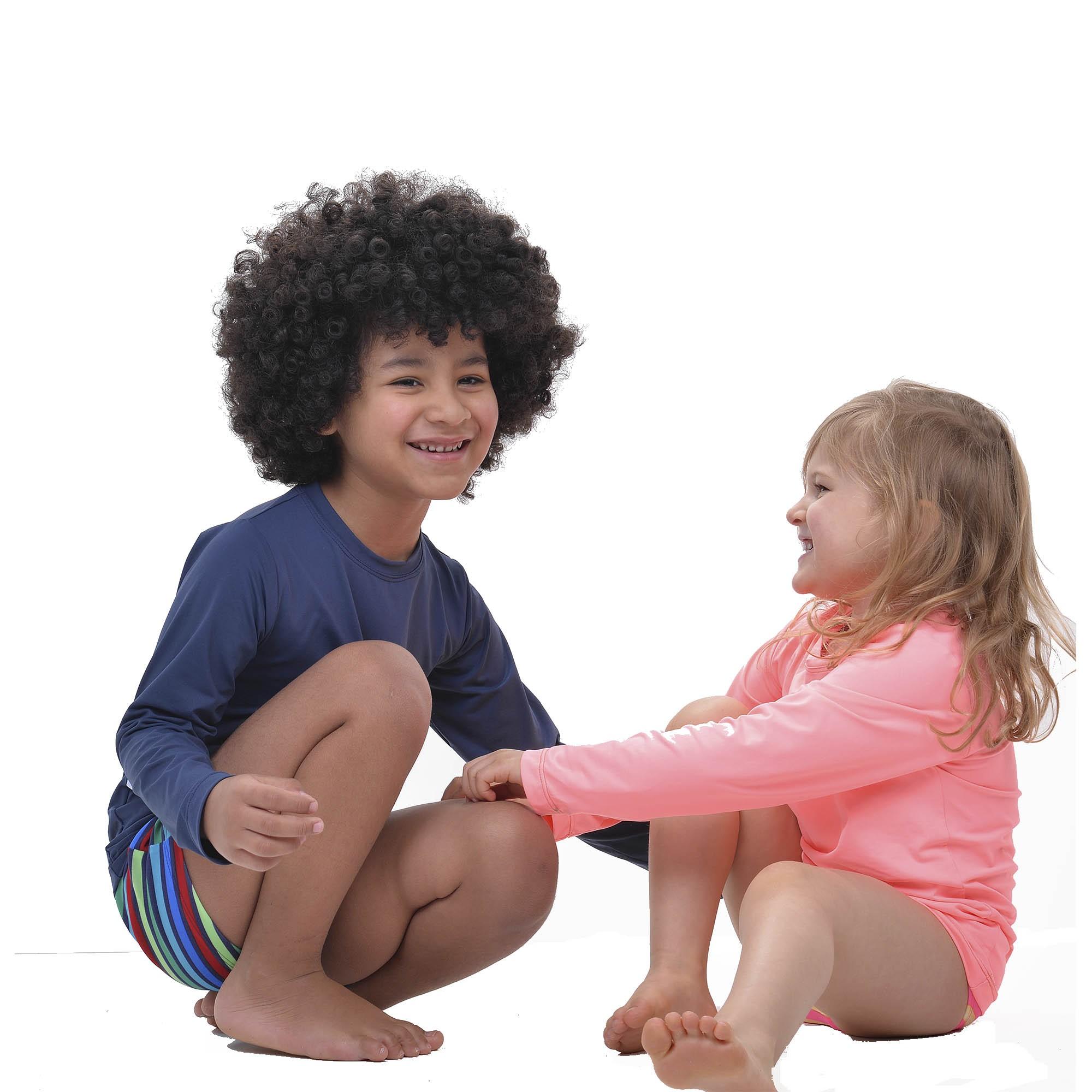 BLUSA COM PROTEÇÃO UVA KIDS