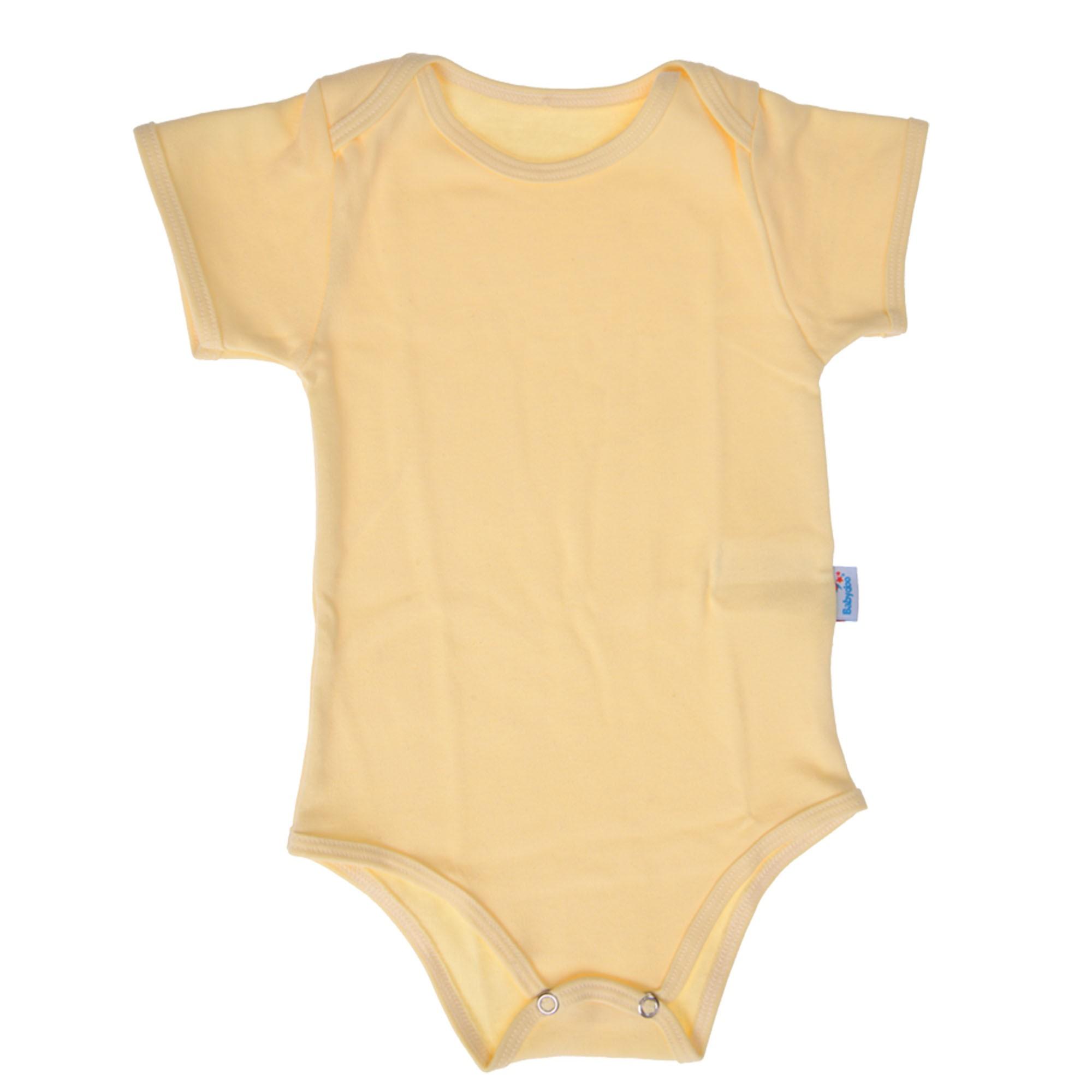 BODY MANGA CURTA BABY