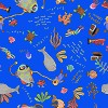 Estampada Oceano Azul