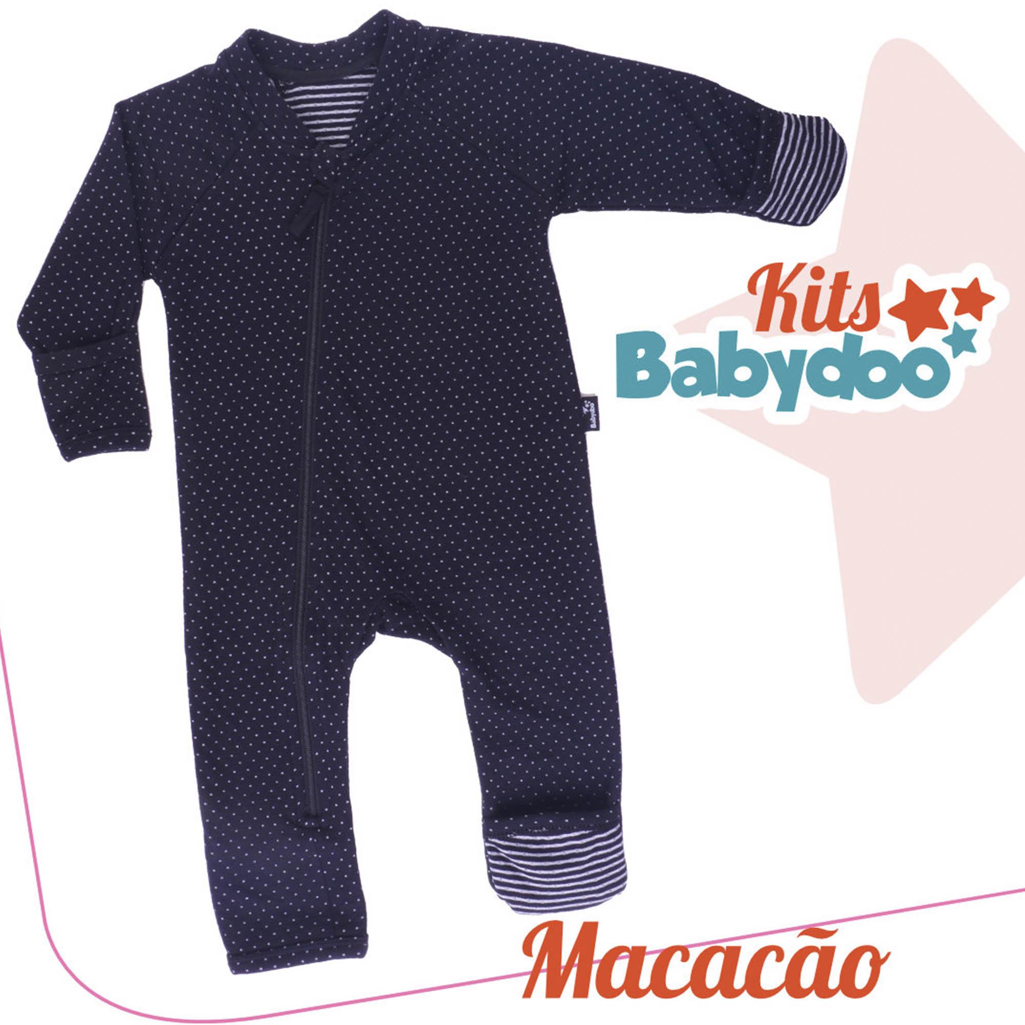 MACACÃO MALHA SUEDINE BABY