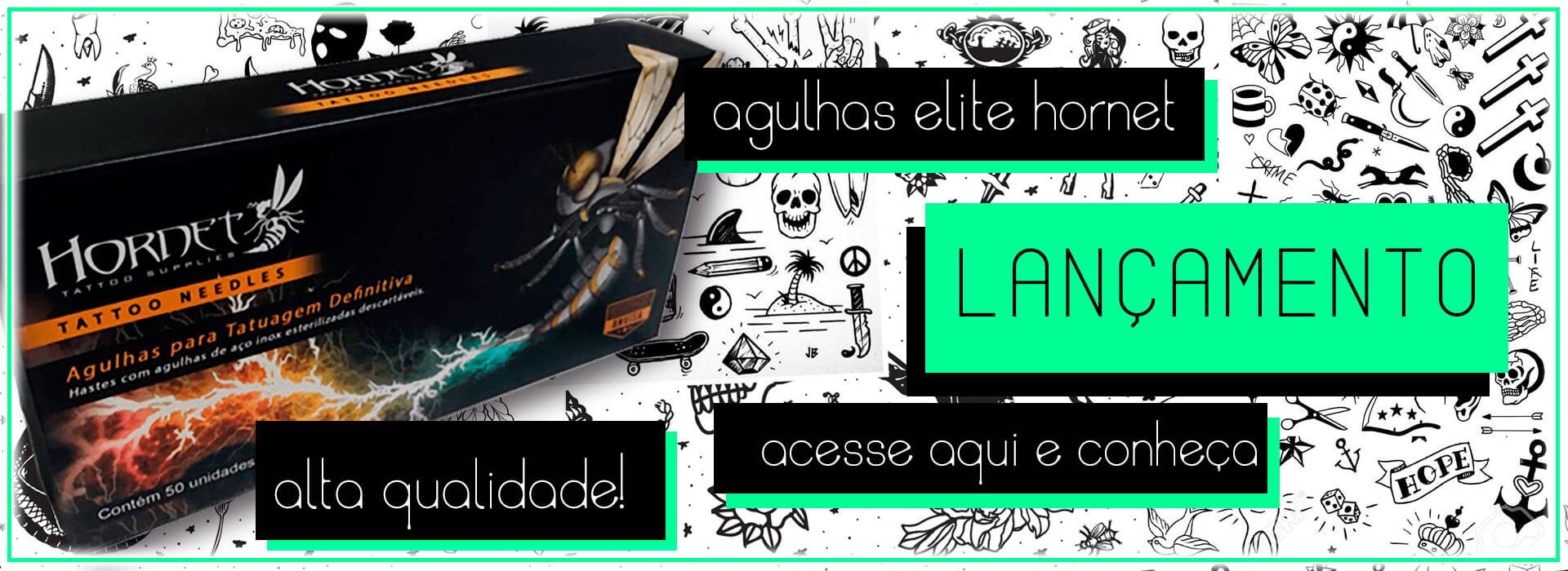 Agulha Hornet para tatuagem