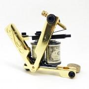 Tattoo Machine Gold Razor Handmade