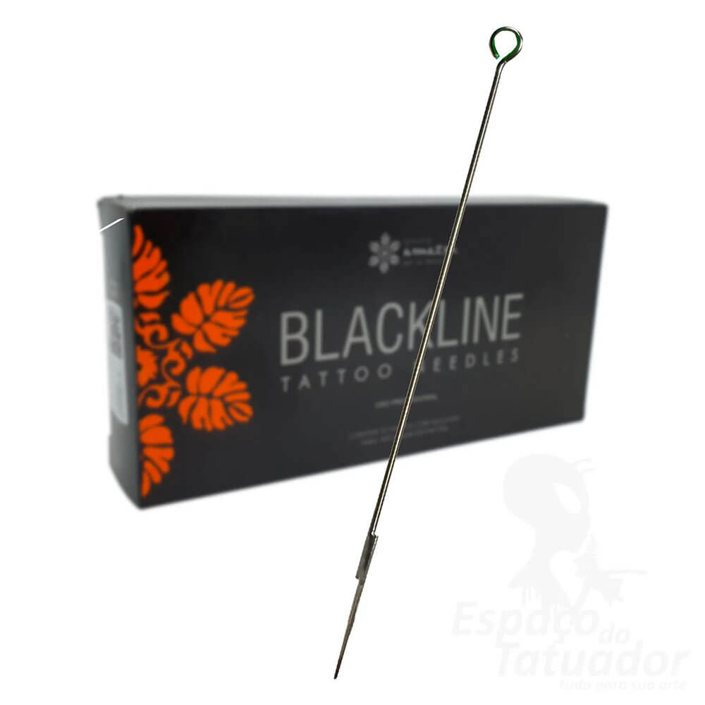 Agulha Profissional para Tatuagem Black Line 07 MG - 1 UNIDADE