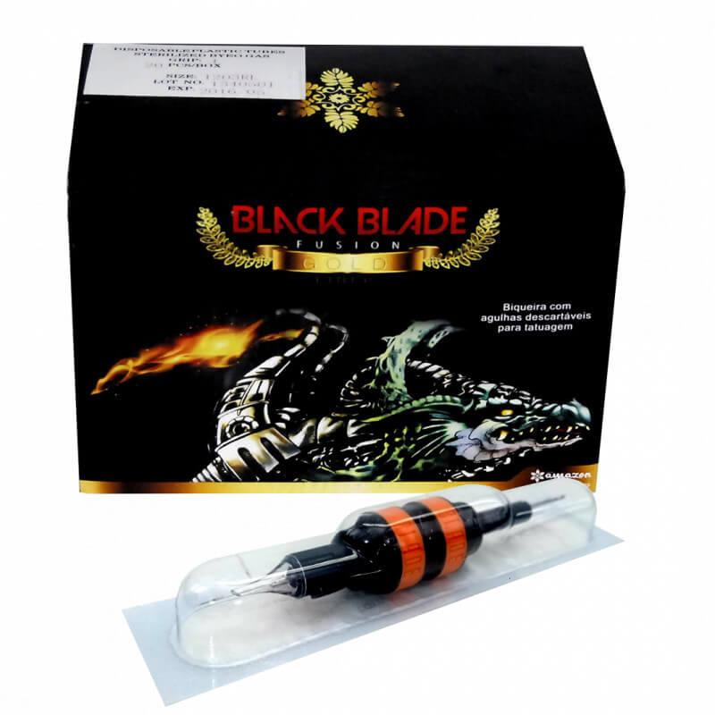 Biqueira com Agulha Black Blade Fusion 07 MG - Pintura e Sombras