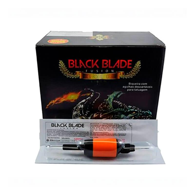 Biqueira com Agulha Black Blade Fusion 07 RL - 1 UNIDADE