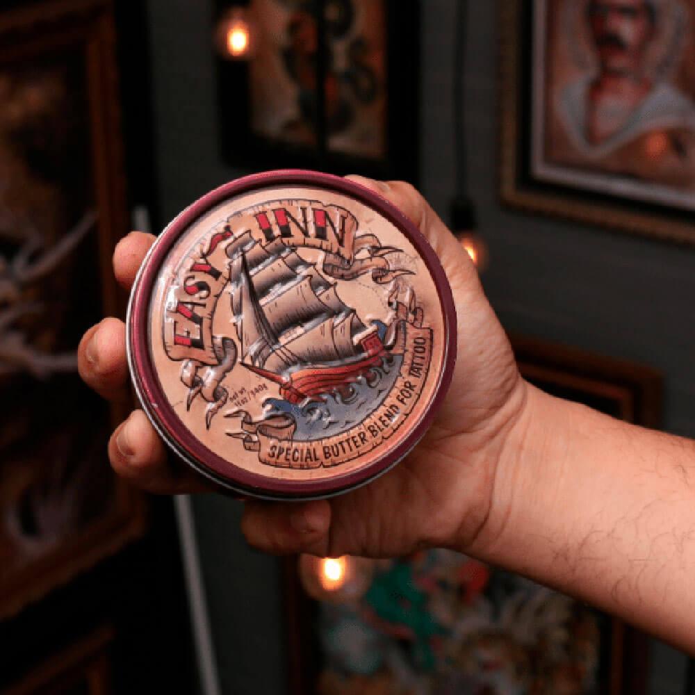 Manteiga Especial para Tatuagem Easy Inn To Go 155g