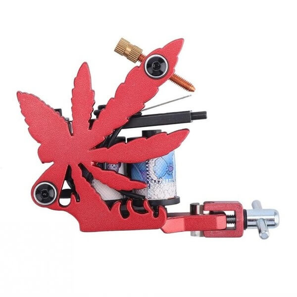 Máquina de Tattoo Red Jah Flower Handmade