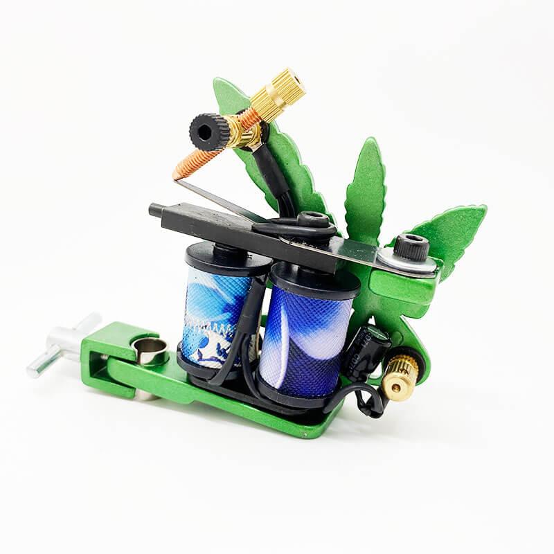 Máquina de Tattoo Green Jah Flower Handmade