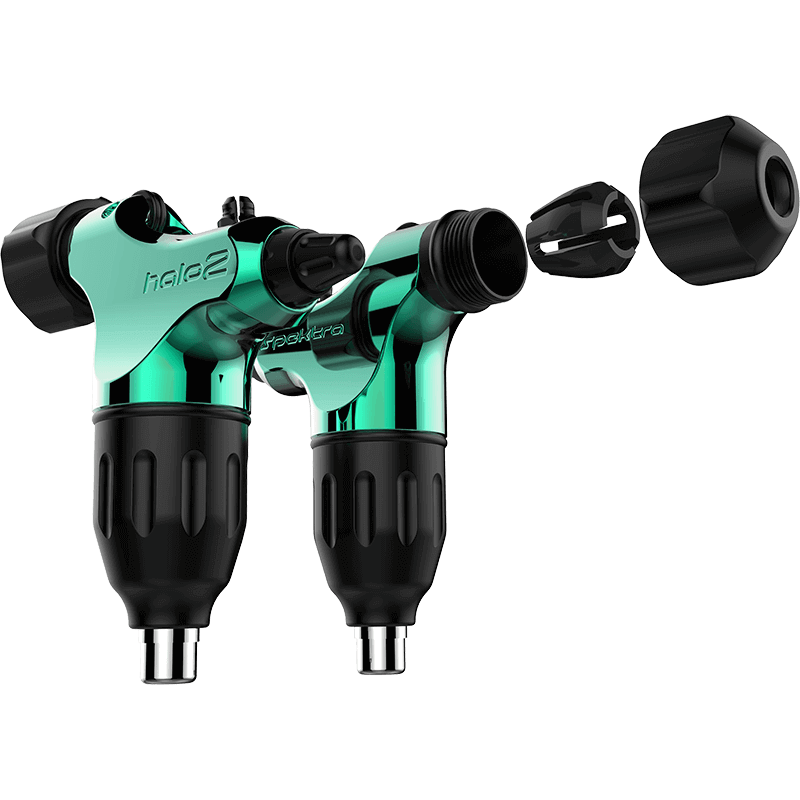 Máquina de Tattoo Rotativa Spektra Halo 2 FK Irons