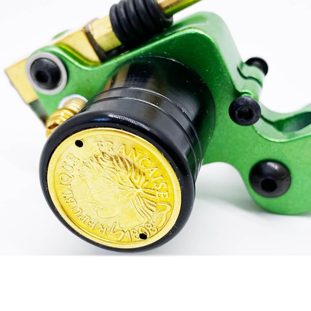 Máquina de Tattoo Rotativa Transversal Top Mummy - Verde