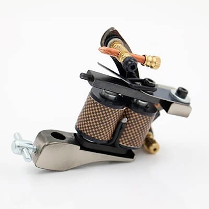 Máquina de Tatuagem de Bobina Brown Iron Handmade
