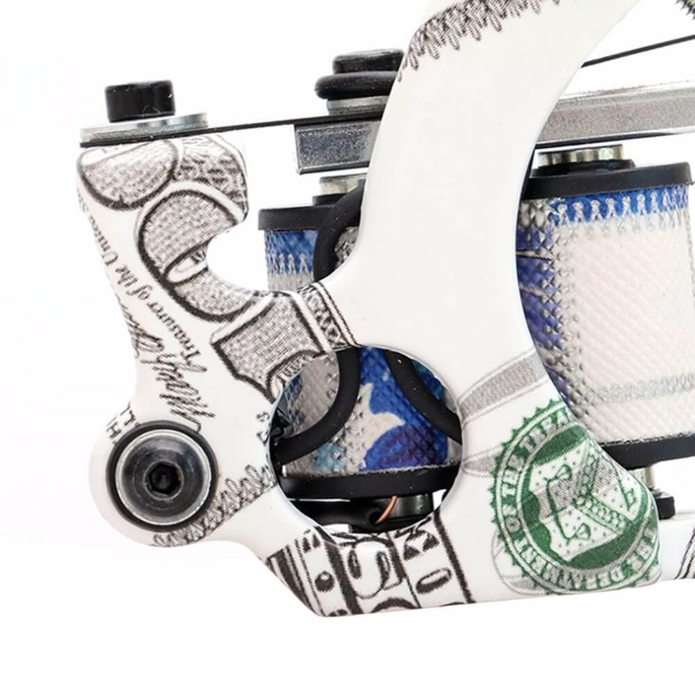 Máquina de Tatuagem de Bobina Dollar Shader Custom