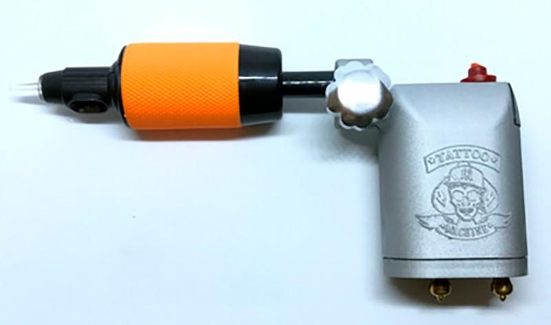 Máquina de Tatuagem Rotativa TCM Square Power Gray