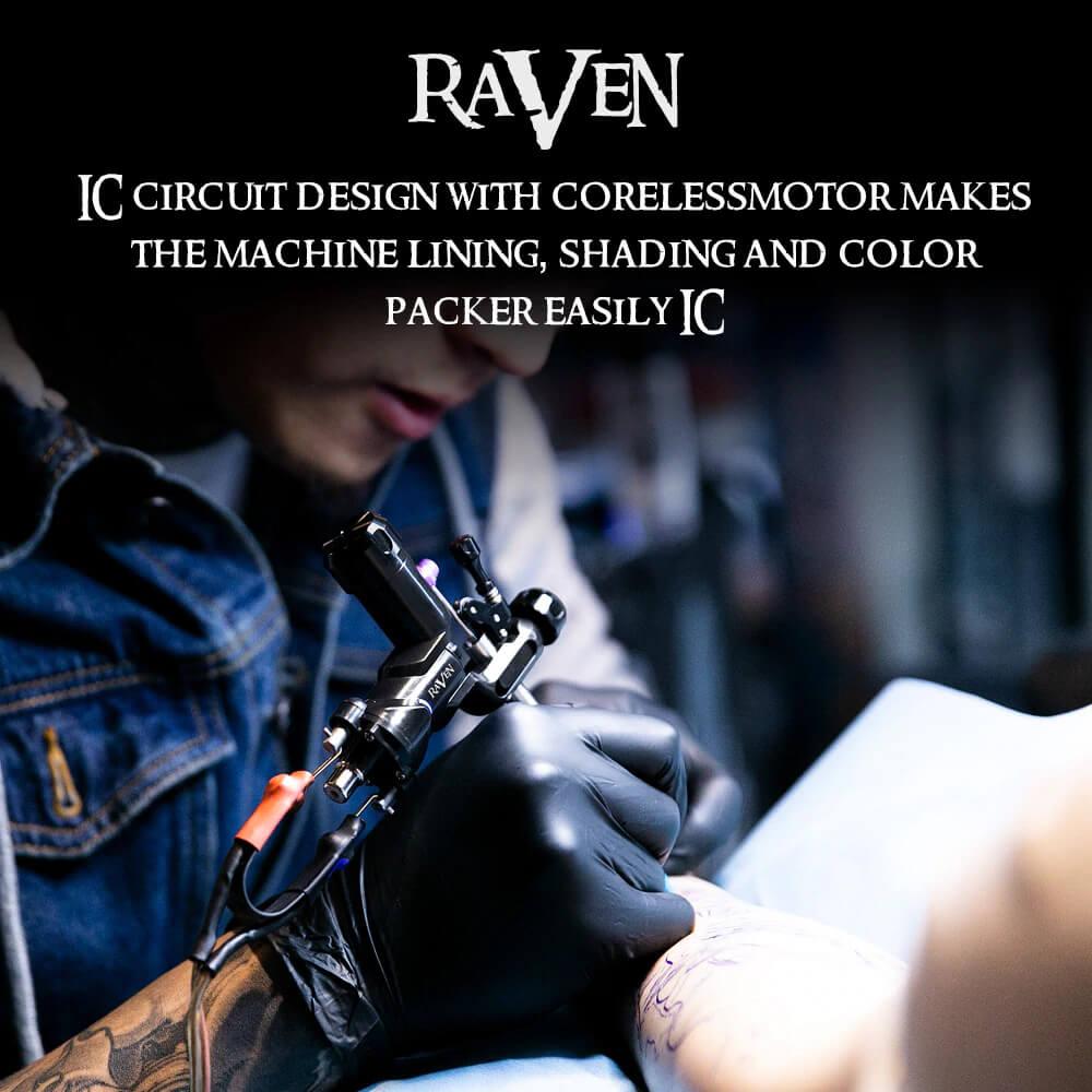 Máquina Rotativa de Tatuagem Raven DragonHawk