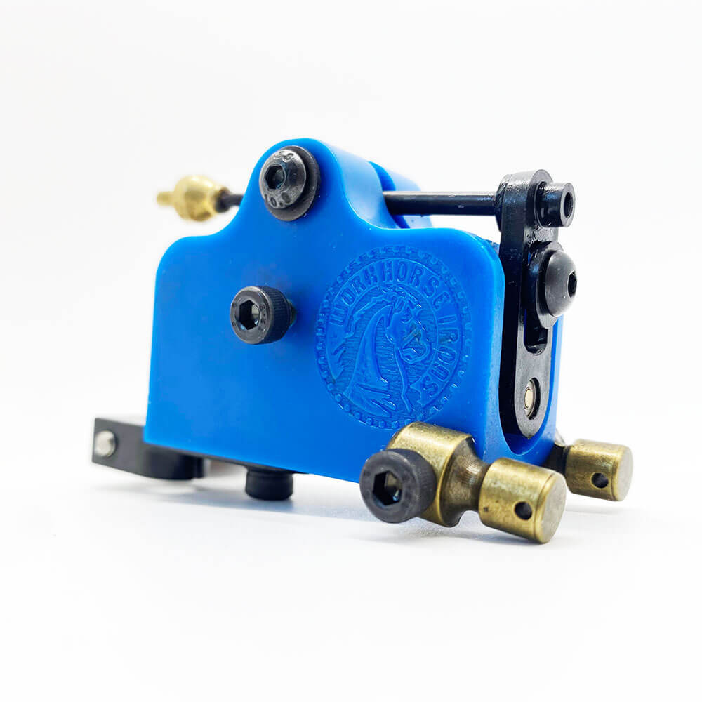 Máquina Rotativa de Tatuagem Transverse Workhorse Irons - Azul