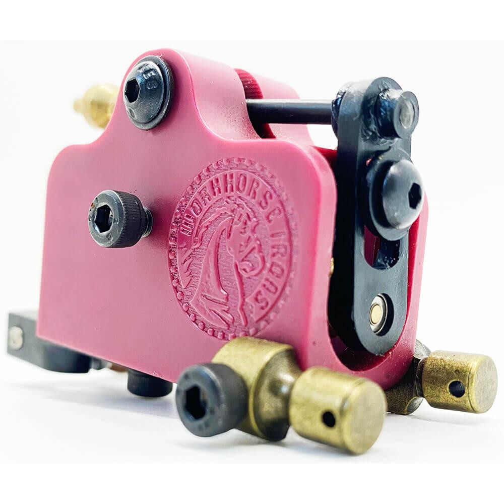 Máquina Rotativa de Tatuagem Transverse Workhorse Irons - Bordô