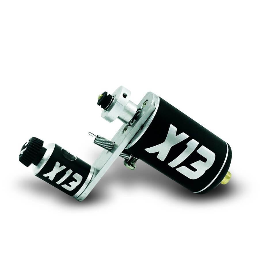Máquina Rotativa de Tatuagem X13 Silver Híbrida XTM