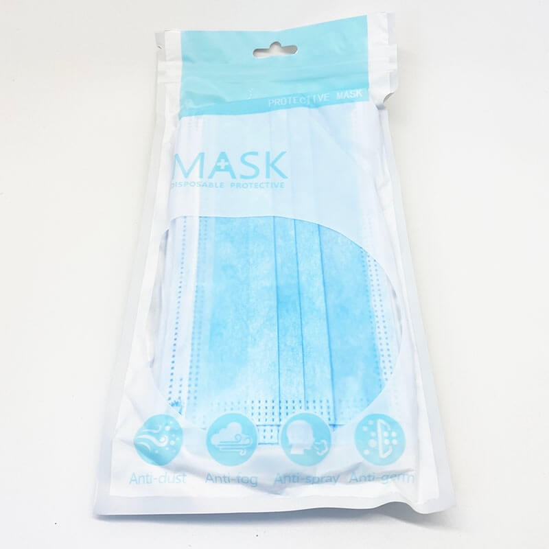 Máscara Cirúrgica Descartável Mask Azul - Tripla Camada